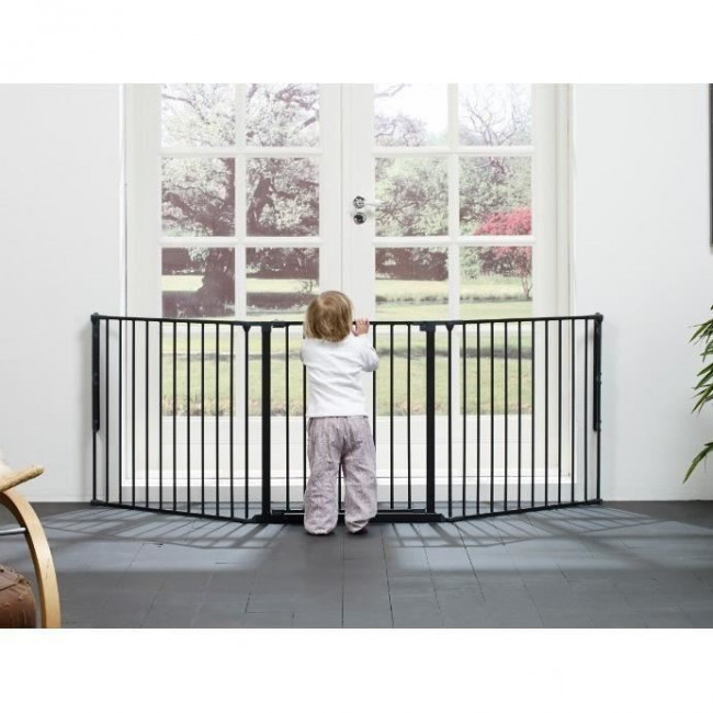Barri re de s curit b b modulable l babydan for Barriere de securite pour escalier helicoidale