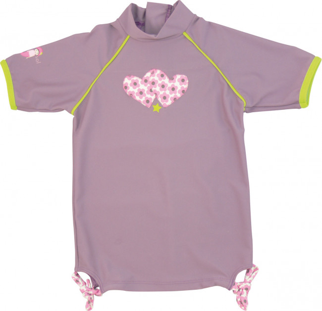 great look latest design timeless design T-shirt anti UV coralie Fille 3-4ans